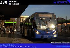 230 | Conchalí - La Pintana (Mr. Mobitec) Tags: chile santiago bus buses volvo 230 marcopolo santiagodechile mapocho transantiago transportepúblico santiagocentro estaciónmapocho b7r volvob7rle b7rle calycanto granviale subus marcopologranviale troncal2 subuschile metropuentecalycanto volvob290r