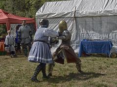 The winner is (asiadsb) Tags: northcarolina knights warriors fairies fighting combat swords elves fantasyfair