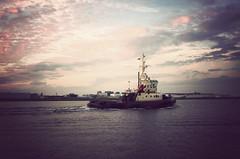 IMGP5387vf (hans fotografeert) Tags: sunset sea amsterdam canal pentax north tug k5 svitzer