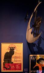 Le Chat Noir - Exposition Paris 1900 (y.caradec) Tags: paris france museum blackcat lumix europe palace musee palais cabaret iledefrance affiche chatnoir 2014 beauxarts petitpalais musedesbeauxarts juillet2014