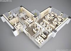 Thiết kế nội thất Văn Phòng công ty VJEC_03