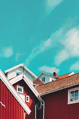 Typical swedish house. (FrederikWiedel) Tags: sweden swede grundsund lyseskil