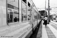 Pensando di partire... (itzel1984) Tags: bw nikon mai e movimento non venezia bianco treno nero viaggio pi viaggiare andare tornare viaggiatori d700