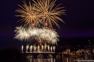Heidelberg Castle Illumination and Fireworks