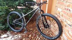 Braapster Honzo ST (John M Anderson) Tags: mountain honzo kona st steel real carver braapster stans flow mk3 dt350 dtswiss chromag shimano xt reverb stealth rockshox rock shox schwalbe 26 race face carbon turbine cinch odi