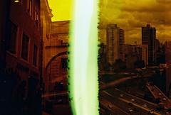 .a country you've made for yourself. (Camila Guerreiro) Tags: film redscale radkasmolikova lightleak filmswap camilaguerreiro czechrepublic são paulo brazil analog grain leica leicar4 lomography lca