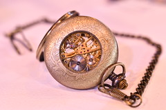 Watch (JerryGoulet) Tags: watch timer macro d500 nikon birmingham photographyshow softlight stilllife object pastel montre pocketwatch