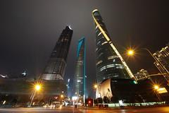 Three Giants (guen-k) Tags: shanghai 上海 sdquattro sigma 816mmf4556dchsm 上海中心 金茂大厦 上海環球金融中心 shanghaitower jinmaotower shanghaiworldfinancialcenter