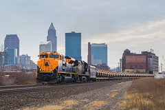 NS 16G Cleveland, Ohio (Nolan Majcher) Tags: ns norfolk southern 1071 central railroad new jersey cnj heritage locomotive 16g cleveland ohio oh