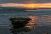 Low Tide Sunset (CloudRipR) Tags: beach water surf sunset waves rock clouds nikon d810 daarklands caviardreams pinnaclephotography