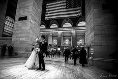 A Good/White Start (Mario Rasso) Tags: mariorasso nikon d810 usa newyork manhattan train wedding couple bride blackandwhite blackwhite unitedstates