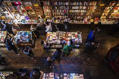 Livraria Lello v2 (ponzoñosa) Tags: library porto portugal harry potter rowling bookstore store book libro tienda neogotico gothic