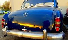 Mercedes 180 - Old but Gold - Ponton  Mercedes - Sedan -  Saloon  Car (eagle1effi) Tags: s7 mercedes ponton mercedes180 car automobile bonlanden filderstadt regionstuttgart classic retro oldtimer karosserie werkstatt