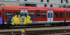 _DSC8739 (Under Color) Tags: hannover graffiti train zug db strain sbahn subway streetart art kunst hbf mainstation hauptbahnhof germany deutschland niedersachsen subwayart graff vandal