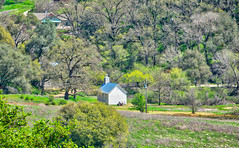 Little Church in the Sierra Nevada Foothills HDR (randyherring) Tags: view california foothills sierranevadafoothills nature afternoon mountains outdoor jackson recreational trees ca unitedstates us