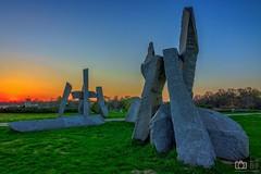 Ada Ciganlija Stonehenge (Todorovic Srecko) Tags: canon canon1200d belgrade ada ciganlija ciganija beograd sunrise sunset sun ladndscape 1018 pejzaz wide wideangle zalazak sunca sunce cigani gipsy stonehenge stounhendz ngc