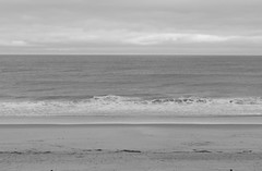 Oceanscape from Atlantic View  (3) (Neil DeMaster) Tags: ocean sea atlantic atlanticocean delaware beach water saltwater oceanscape seascape deweybeach blackandwhite shore