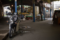 supercub pro / for delivery (kasa51) Tags: supercub motorbike motorcycle fordelivery スーパーカブ・プロ kawasaki japan alley
