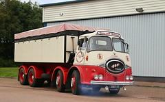ERF KV S Roper Bulk Tipper IMG_8693 (Frank Hilton.) Tags: classic truck lorry eight wheel maudsley aec atkinson albion leyalnd bristol austin outside heavy haulage crane 8 axle