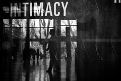 intimacy (bemberes) Tags: bw urban bilbao epl3