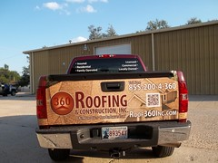 360Roofing_Truck_Wrap (2) (zakschroeder) Tags: 360roofing tylersauerwald ts 2013chevysilverado 2013chevroletsilverado burgundy chevysilverado chevroletsilverado crimson maroon fullwrap truckwrap fulltailgatewrap graphicwrap roofing construction home building residential commerical contrator wood shingles parchmentpaper floorplans curtiselam ce driverside ds passengerside ps tailgate tg flatbed flat bed truck wrap graphic graphx design wrapped vehicle vehiclegraphics vehiclewrap wrapokc wrapokccom gallery