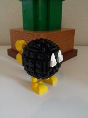 bob omb mario (Old School Brick) Tags: bob omb mario lego nintendo moc