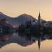 Slovenia. Morning at Lake Bled
