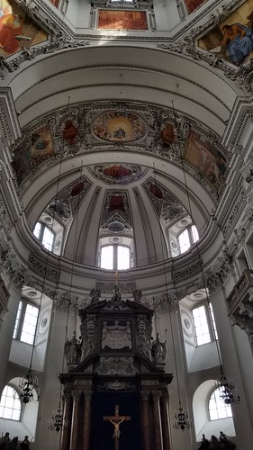 Cathedral dome, Salzburg, Austria