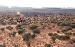 Horseshoe Bend (5 of 6): viewpoint near sundown... 20170405_8479 (listorama) Tags: usa arizona horseshoebend people