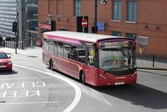 2212 @ Moor Street Queensway, Birmingham (ianjpoole) Tags: national express west midlands alexander dennis enviro 200mmc yx15ozb 2213 working route 37 solihull train station lower bull street birmingham