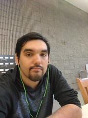 Hanging out at the library in Niagara Falls, NY (darylcarlos1) Tags: selfie chillin library