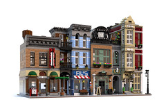detektyw (agata_pakita) Tags: town lego modular buidling city instructions custom