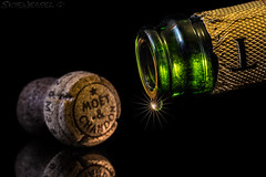 Sparkling Champagne - Good to the Last Drop (EXPLORED) (SkyeWeasel) Tags: macromondays happy10years celebration champagne cork birthday hmm