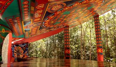 Playa Del Carmen--Mexico--Ozen Cocom (dayamc) Tags: temple buddha buddhist art mural playadelcarmen mexico yucatan