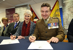 "Building Heroes & Chichester College Joint Armed Forces Covenant Signing • <a style=""font-size:0.8em;"" href=""http://www.flickr.com/photos/146127368@N06/33438511601/"" target=""_blank"">View on Flickr</a>"