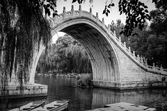 The Jade Belt Bridge (AdeRussell) Tags: bridges beijing travel water cityandarchitecture china summerpalace bridge cityscape cn