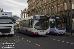 First West Yorkshire 61227 (Luke Bowman's Photography) Tags: first west yorkshire 61227 scania l94ub wright solar leeds boar lane