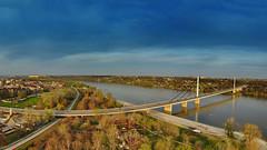 Most Slobode Novi Sad (AleksandarM021) Tags: novisad nature serbia serbiaandmontenegro srbija serbianculture sky aleksandarmilutinovic architecture vojvodina vazduha arial vojvodjanski vacations day danuberiver danube dunavski dunav europe exit europeanculture epk2021 capital