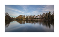 The Aviary (andyrousephotography) Tags: worsley theaviary oldwarkedam worsleywoods jetty longexposure le clouds reflections wildlife andyrouse canon eos 5d mkiii