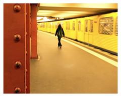 Life`s a Journey..... (kurtwolf303) Tags: ubahn metro ubahnstation train zug garnitur berlin alexanderplatz person germany deutschland olympusem1 omd microfourthirds micro43 systemcamera mirrorlesscamera urbanlifeinmetropolis unlimitedphotos streetphotography strasenfotografie subway underground 250v10f topf25 topf50 500v20f kurtwolf303 750views topf75 900views digitalphotography 1000v40f topf100 1500v60f