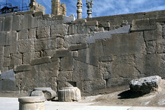 Found Photo - Iran - Persepolis - Archeological Site 13.tif (David Pirmann) Tags: iran ruins archeology persia persian unesco worldheritage xerxes parsa takhtejamshid achaemenid dpfoundphotoasia1976 persepolis