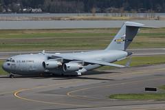 Reach 375 (sabian404) Tags: 033126 mcguire air force base boeing c17a globemaster iii c17 usaf amc 305amw 6as portland international airport pdx kpdx