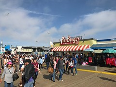 Santa Monica Pier, Los Angeles California - PierBurger (shinnygogo) Tags: santamonica pier california spring sunday travel destination la losangeles crowd socal
