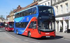 Wilts & Dorset (more) 1654 - HF66CHG (Southern England Bus Scene) Tags: salisbury wd salisburyreds gsc gosouthcoast 1654 hf66chg
