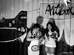 Art and Food (gunman47) Tags: 2017 april artbox b bw bangkok market mono monochrome sg sepia singapore thailand w wall artwork black food lightbox photography stall street weekend white zinc