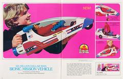 1978 Kenner Six Million Dollar Man bionic mission vehicle (Tom Simpson) Tags: kenner toy toys vintage vintagetoys 1970s 1978 bionicman sixmilliondollarman