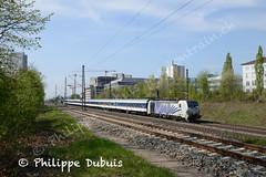 BR 193 772 à München Heimeranplatz (D) (passiontrain.ch) Tags: br 193 772 à münchen heimeranplatz d un train de remplacement du meridian munich kufstein lomo lokomotion