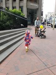Chasing pigeons (quinn.anya) Tags: sam preschooler pigeons chasing andy stroller paul marchforscience