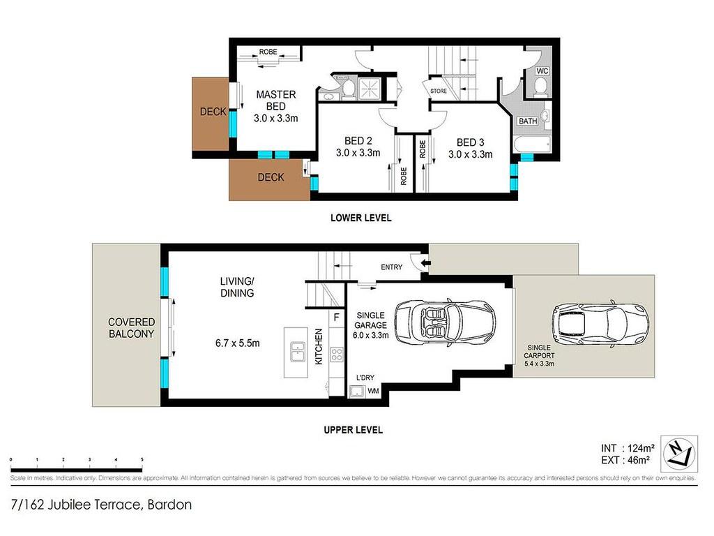 7 162 jubilee terrace bardon qld 4065 auhouseprices com for 123 adelaide terrace perth