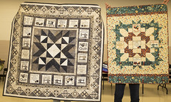 Elaine Theriault - Trunk Show (Brampton Quilters' Guild Inc.) Tags: brampton ontario canada quilts quilt quilting trunkshow bramptonquiltersguild